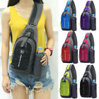 Waterproof Chest Bag Travel Sport Shoulder Sling Backpack Cross Body Gift Small image