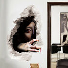 Halloween 3d Scary Wall Stickers Decoration Art Ghost Mural Bloody Party Decals