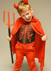 Childrens Size Halloween Devil Red Cape