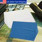 Memory Foam Wedge Pillow System Comfort Sleep Bed Back Lumbar Support Cushion image