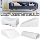 Elevating Leg Rest Wedge Bed Pillow Relax Support Cushion Memory Foam Filling Us