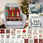 Universal Pillow Case Square Cushion Cover For Christmas Home Sofa Office Decor