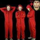 Salvador Dali Money Heist The House of Paper Cosplay Costume Jumpsuit + Mask UK