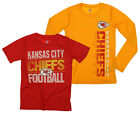 NFL Youth Kansas City Chiefs Fan Two Piece Performance T-Shirt Combo Set $29.99 USD on eBay