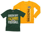 NFL Youth Green Bay Packers Fan Two Piece Performance T-Shirt Combo Set $29.99 USD on eBay