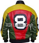 8 Ball Pool Seinfeld Michael Hoban Where MI Bomber Real Leather Jacket $169.95 USD on eBay