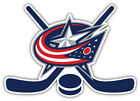 "Columbus Blue Jackets Sticks NHL Sport Car Bumper Sticker Decal ""SIZES'' $3.75 USD on eBay"