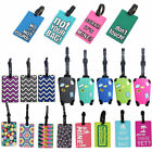 Kyпить Hot Colourful PVC Luggage Tag Name Bag Card Holder Travel Suitcase Luggage Tags на еВаy.соm