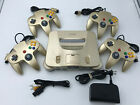 StoreInventorychoose nintendo 64 console color + up to 4 controllers + cords!  cleaned n64!