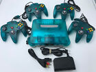 Купить Choose Nintendo 64 Console Color + Up to 4 Controllers + Cords!  CLEANED N64!
