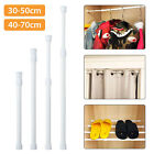 Extendable Shower Curtain Rod/Pole Telescopic Spring Tension Rod Clothes Rail