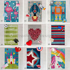 SMALL SOFT KIDS KIDDY PLAY DAYS NOVELTY FUN BRIGHT COLOURFUL RUGS MATS 80x120cm
