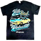 Snap on Big Bad And Reborn Black Crew Neck T-shirt / Tee Shirt -PICK YOUR SIZE image