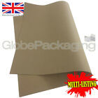 STRONG KRAFT PAPER GIFT WRAPPING SHEETS 500x750mm (20x30