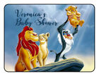 Simba Lion King Baby Shower Water Bottle Labels Round/ Rectangle Favor Labels