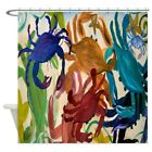 "CafePress Crab Party Decorative Fabric Shower Curtain (69""x70"") (1144699200)"