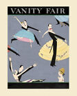 POSTER VANITY FAIR COVER COUPLE DANCING BALLROOM DANCE VINTAGE REPRO FREE S/H