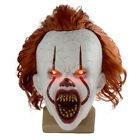 masque clown il halloween stephen king costume cosplay effrayant joker farce