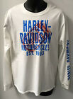 Harley Davidson Mens Sheer Oil Long Sleeve Shirt-White R003035 $39.95 USD on eBay