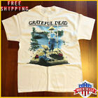 1995 Grateful Dead Mark Twain T-Shirt RARE 90's SPRING TOUR 95 REPRINT Full Size image