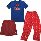 MLB Youth Philadelphia Phillies T-Shirt Boxer & Pant 3 Piece Sleep Set on Ebay