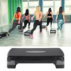 "27"" Adjustable Fitness Aerobic Step Exercise Stepper 4"" - 6"" w/ Risers Home Gym image"