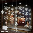 Christmas Tree Decorations Snowflakes Party Charms Ornaments 11cm White 90pcs