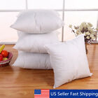 Euro Cotton Cushion Throw Pillow Sofa Waist Pillowcase Insert Filler ALL SIZE image