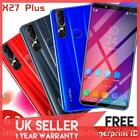 6.3''x27 Plus Smart Mobile Phone Android 9.1 Dual Sim 6+128g Face Id Unlocked Uk