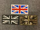 UK Union Jack IR & Reflective Morale Flag Patch for UBACS & Bergen, Multicam