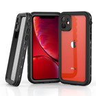 Fr iPhone 11 Pro Max Waterproof Shockproof Dustproof Full Body Rugged Case Cover