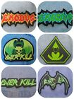 Exodus Overkill chaly embroidered patch thrash metal slayer metallica testament