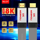 8K HDMI 2.1 Cable 8K 60Hz 4K 120Hz 48Gbps 4320P UHD Ultra High Speed 10K HDR