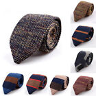 Fashion Men's Colourful Tie Knit Knitted Tie Necktie Narrow Slim Skinny WovenNew $4.76 CAD on eBay