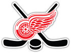 "Detroit Red Wings Sticks NHL Sport Car Bumper Sticker Decal ""SIZES'' $3.75 USD on eBay"