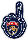 "Florida Panthers Puck Hand NHL Sport Car Bumper Sticker Decal ""SIZES'' $4.5 USD on eBay"