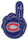 Montreal Canadiens Puck Hand NHL Sport Car Bumper Sticker Decal  ''SIZES'' $4.75 USD on eBay