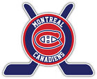 "Montreal Canadiens Sticks Logo NHL Sport Car Bumper Sticker Decal  ""SIZES'' $3.75 USD on eBay"