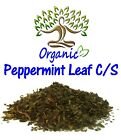 PEPPERMINT LEAF C/S ORGANIC US-sourced caffeine-free tea natural botanical herb