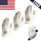 Golf Glove Mens Value 3 Pack Left Hand Medium  Large XL Microfiber Soft US Stock