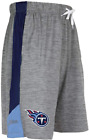 Zubaz NFL Football Men's Tennessee Titans Gray Space Dye W/Solid Stripe Shorts $24.99 USD on eBay