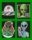Alien Vinyl Sticker Lot (6 Options)