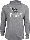 Zubaz NFL Football Men's Tennessee Titans Tonal Gray Lightweight Hoodie $34.99 USD on eBay