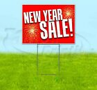 NEW YEAR SALE 18x24 Yard Sign WITH STAKE Corrugated Bandit USA BUSINESS HOLIDAYS