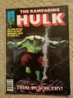 THE RAMPAGING HULK Magazines #1-9 THE HULK Magazines #10-14  MARVEL!