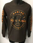 Harley Davidson Mens HD Show Me Long Sleeve T-Shirt Brown  302976650 image
