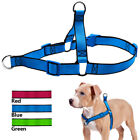 Nylon Front Clip No Pull Medium Large Dog Harness No Choke Bulldog Rottweiler