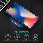Qi Wireless Fast Charger Pad For Samsung Galaxy S8 S9 S10Plus Note9 10+ S7 S10+
