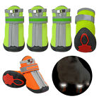 Waterproof Dog Shoes Snow Rain Boots Booties Non-Slip Reflective Paw Protection