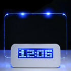 Fashion Digital Calendar Fluorescent Message Board USB LED Alarm Clock New